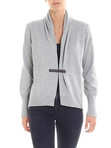 Fabiana Filippi - Light grey merinos wool cardigan