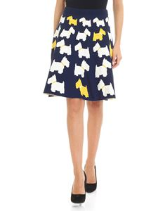 Moschino Boutique - Skirt with dog inlays