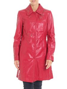 Moschino Boutique - Red leather coat