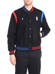 Marcelo Burlon - Black NBA jacket