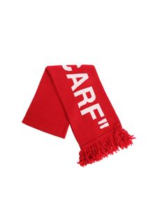 Off-White - Red double scarf