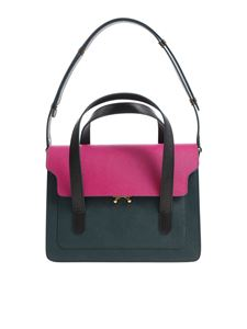 Marni - Green and pink shoulder bag