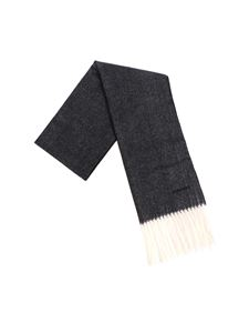 Dsquared2 - Black and grey wool scarf