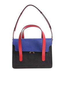 Marni - Black red and blue shoulder bag