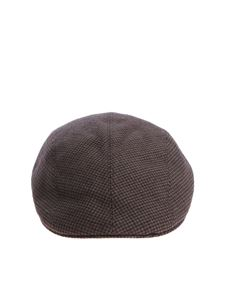 Altea - Army green houndstooth beret