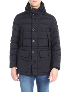 Moncler - Black quilted Reims down jacket
