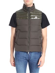 Moncler - Army green Deneb quilted down jacket