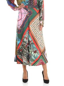 Moschino Boutique - Multicolor flared skirt