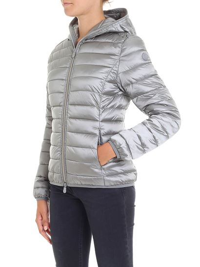 The Sfiancato Con Jacket Autunno Down Grigio Save 1819 Inverno Duck d04qP