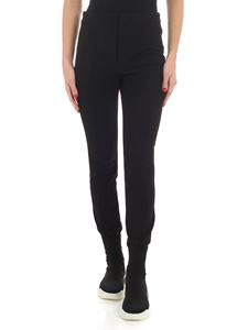 Moncler Grenoble - Black pants with front veins