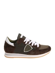 Philippe Model - Sneakers Tropez L military green