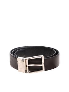 Canali - Brown and black reversible belt
