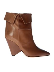 Isabel Marant - Brown Luliana pointy boots