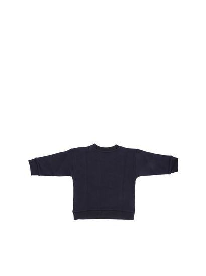 Gucci - Blue sweatshirt with bow