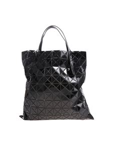 BAO BAO Issey Miyake - Soft black tote with squares and triangles