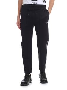 Kenzo - Black pants with veins