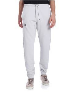 Marcelo Burlon - Pearl grey sweatpants
