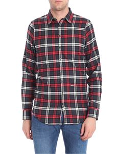 Dsquared2 - Red white and grey checked shirt