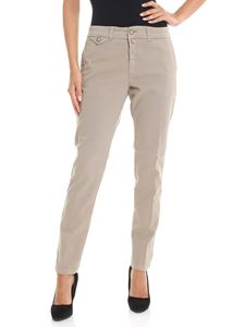 Kubera - Taupe colored trousers
