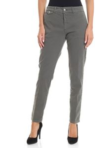 Kubera - Slash pockets grey trousers
