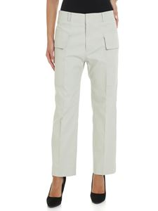 Sofie D'Hoore - Ice-colored trousers with patch pockets