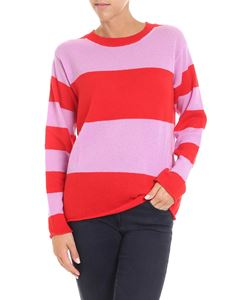 Sofie D'Hoore - Pink and red striped pullover