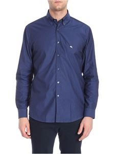 Etro - Mandy blue embroidered fabric shirt