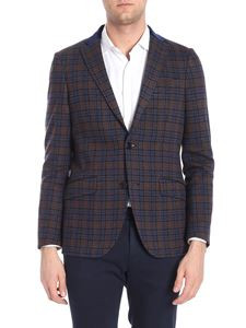 Etro - Minosse grey two buttons jacket