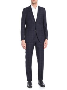 Etro - New Mileto black and blue two button suit