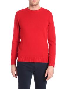 Kangra Cashmere - Pullover rosso in cachemire