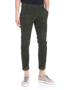 Dondup - Army green corduroy trousers