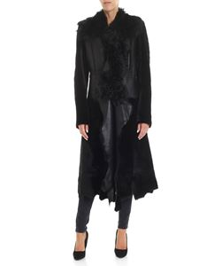 Desa 1972 - Black shearling long coat