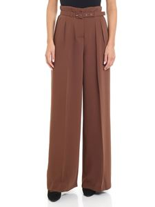 KI6? Who are you? - Brown wide leg trousers