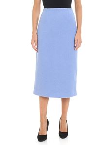 Jucca - Midi skirt with central slit