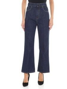 Jucca - Blue bootcut jeans