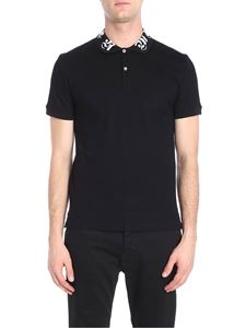Alexander McQueen - Black cotton polo