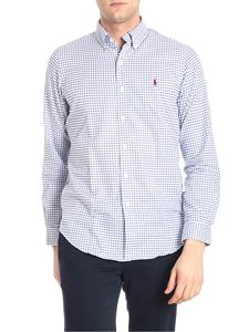 POLO Ralph Lauren - White and blue checked shirt
