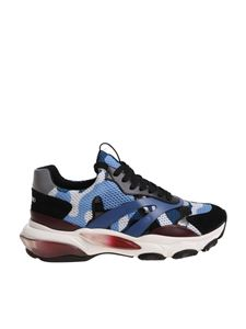 Valentino - Bounce camouflage sneakers