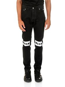 MSGM - Branded 5-pocket black jeans