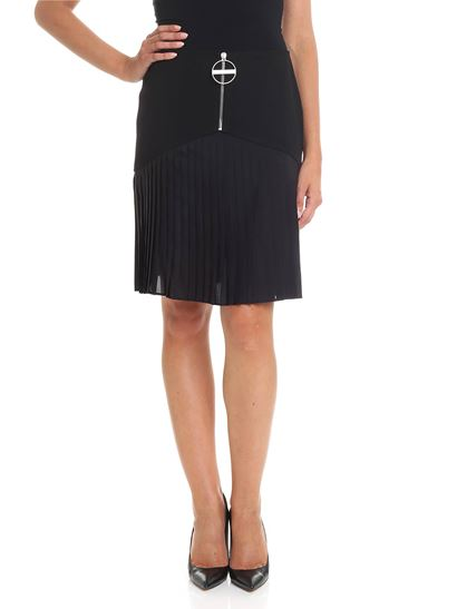 Givenchy - Pleated black skirt