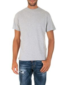 Golden Goose Deluxe Brand - Grey t-shirt with logo print