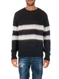 Golden Goose Deluxe Brand - Blue and white striped pullover