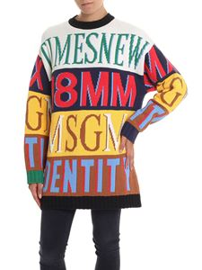 MSGM - Knitted crew neck pullover