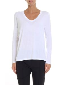 Majestic Filatures - White long sleeve t-shirt