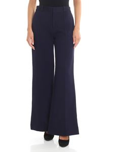 See by Chloé - Blue flare pants