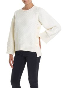 See by Chloé - Cream knit pullover