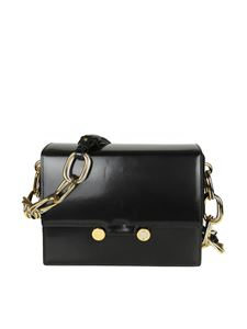 Marni - Black leather Caddy shoulder bag
