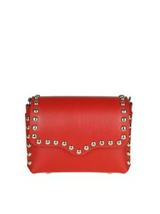 Rebecca Minkoff - Red leather bag with studs