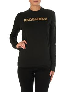 Dsquared2 - Black long-sleeved T-shirt