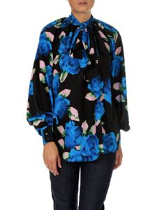 MSGM - Floral technical fabric blouse